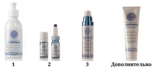 Программа Tebiskin для восстановления обезвоженной кожи - вечер