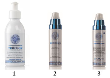 Программа Tebiskin для восстановления кожи после лазерных процедур - утро
