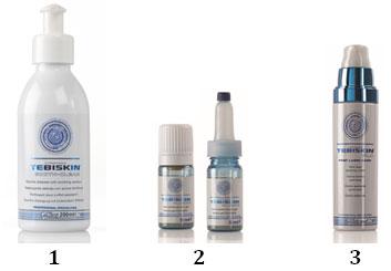 Программа Tebiskin для восстановления кожи после лазерных процедур - вечер