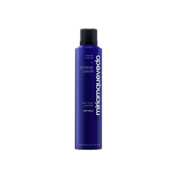 Miriam Quevedo Extreme Caviar Final Touch Hairspray – Soft Hold